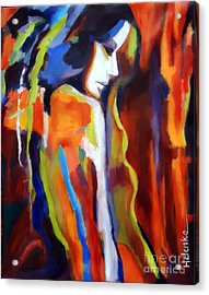 Acrylic Print featuring the painting Animus by Helena Wierzbicki