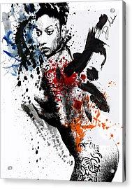 Anindita Is Paula Michelle Acrylic Print
