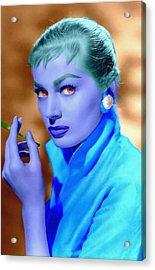 Anita Ekberg Acrylic Print by Art Cinema Gallery