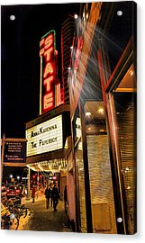 State Theater Marquee Acrylic Print