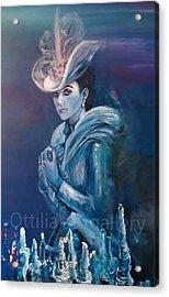 Anna Karenina Acrylic Print by Ottilia Zakany
