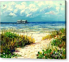 Anna Maria Island Pier Acrylic Print