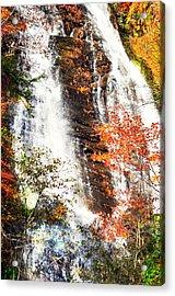 Anna Ruby Falls....... Acrylic Print by Tanya Tanski