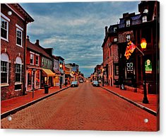 Annapolis Acrylic Print by Benjamin Yeager