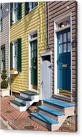 Annapolis Historic Homes I Acrylic Print