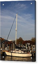Annapolis Md - 121246 Acrylic Print by DC Photographer