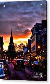 Annapolis Night Acrylic Print