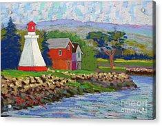 Annapolis Royal Lighthouse 2 Acrylic Print