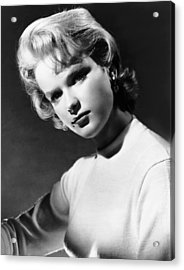 Anne Francis, Ca. Mid-1950s Acrylic Print by Everett