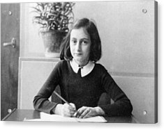 Anne Frank Acrylic Print