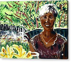 Anne Acrylic Print