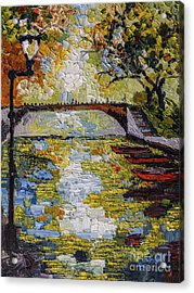 Annecy Canal France Acrylic Print
