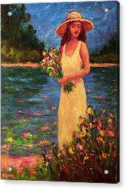 Anne's Garden Acrylic Print