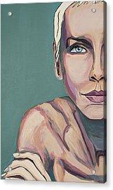 Annie Lennox Talk To Me Acrylic Print