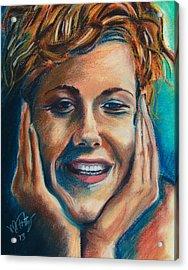 Annie Acrylic Print