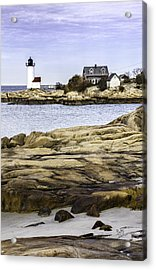 Acrylic Print featuring the photograph Annisquam Light by Betty Denise