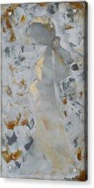 Anniversary - She Acrylic Print by Hanna Fluk