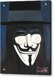 Anonymous  Acrylic Print