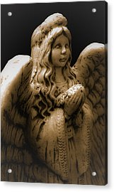 Another Angel Acrylic Print by Jennifer Burley