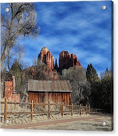 Another Beautiful Day During Our Acrylic Print by Larry Marshall