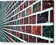Another Brick In The Wall Acrylic Print by Deena Stoddard