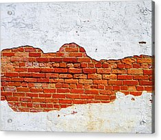 Another Brick In The Wall Acrylic Print by Lorraine Heath