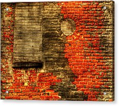 Another Brick In The Wall Acrylic Print by Thomas Young