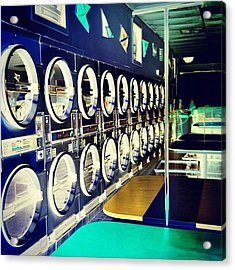 Another Chance To Make A Laundromat Acrylic Print