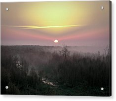 Another Dawn Over The Prairie Acrylic Print