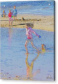 Another Day At The Beach Acrylic Print