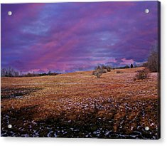 Another Day Acrylic Print by Barbara S Nickerson