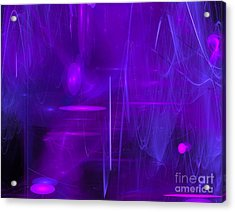 Acrylic Print featuring the digital art Another Dimension by Victoria Harrington