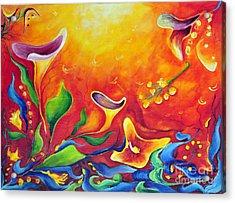 Another Dream Acrylic Print by Teresa Wegrzyn