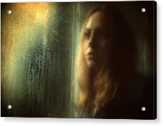 Another Face In A Window Acrylic Print