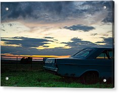 Another Ford Sunset Acrylic Print