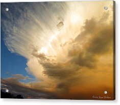 Another Incredible Cloud Acrylic Print by Joyce Dickens