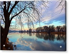 Acrylic Print featuring the photograph Another Morning Reflection by Lynn Hopwood