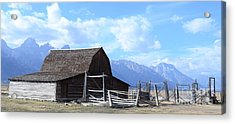 Another Old Barn Acrylic Print by Kathleen Struckle