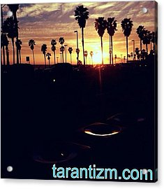 Another Sunset Shot Away From The Acrylic Print