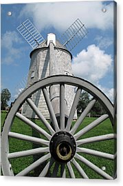Another View Acrylic Print by Barbara McDevitt
