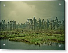 Another World-another Time Acrylic Print by Eti Reid
