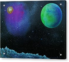 Another World - Sold Acrylic Print by Lou Cicardo