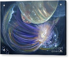 Another World10 Acrylic Print by Valia US