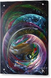 Another World13 Acrylic Print by Valia US