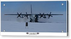 Antarctic Hercules Acrylic Print by David Barringhaus