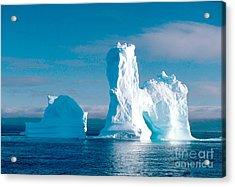 Antarctic Icebergs Acrylic Print by Art Wolfe