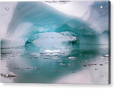Antarctica Artistic Open Arch In An Acrylic Print by Janet Muir