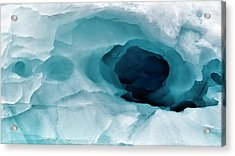 Antarctica Close-up Of An Artistic Acrylic Print by Janet Muir
