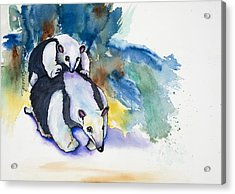 Anteater With Baby Acrylic Print