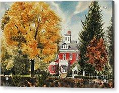 Antebellum Autumn Ironton Missouri Acrylic Print